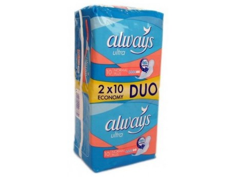 Absorbante Always Duo Pack Ultra Plus (set 20)