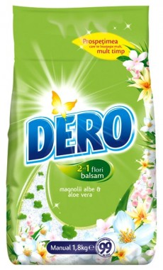 Detergent Manual Dero Surf 2in1 1,8Kg