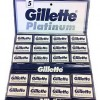 Lame Platinium Gillette (set 100)